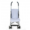 blauer Kinderwagen Fußsack multifunktional