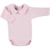 Baumwollstrampler mit langen Ärmeln rosa