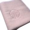 Klassisch-schicke Babydecke rosa 150 x 120 cm