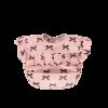 Rüschenlätzchen rosa mit Schleifen