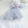 Mein Lieblingssamt-Teddybär blau