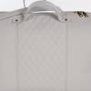 Grau gesteppte Wickeltasche inkl. Wickelauflage 38 x 28 x 19 cm