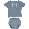 Blaues Sommeroutfit Navy