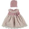 Kleid 2-teilig rosa