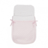 Gesteppter rosa Kinderwagen-Fußsack multifunktional