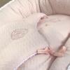 Klassisch-schicke Babyschlafsack rosa