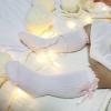 Socken mit Schleife rosa 1 bis 2 Jahre