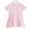 Rosa Strickkleid mit Schleifen & passender Hose