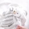 Mein Lieblingssamt-Teddybär grau
