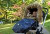 Bontrand Kinderwagen kap grijs