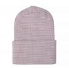 Neugeborener Hut rosa weiß gestreift