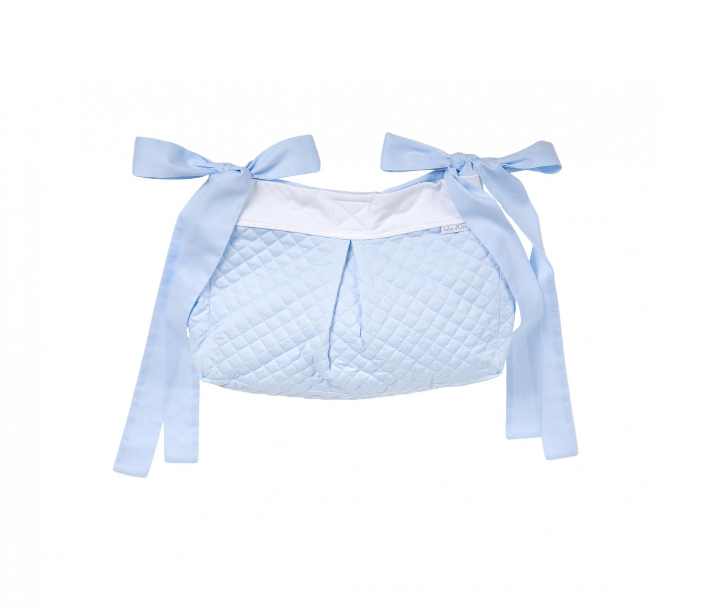 Blauer Royal gesteppte Aufbewahrungstasche / Spielzeugtasche