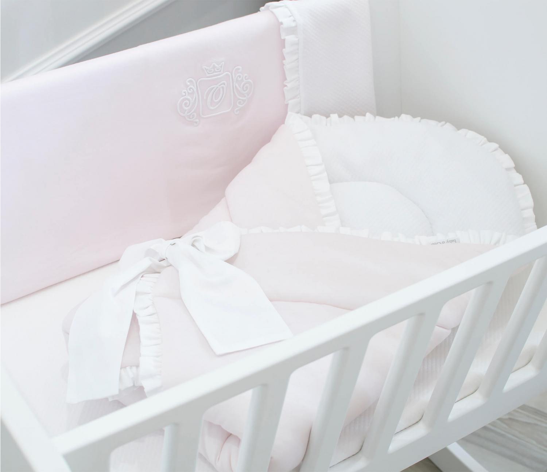 Roze Angel gesteppter Bogenschlafsack