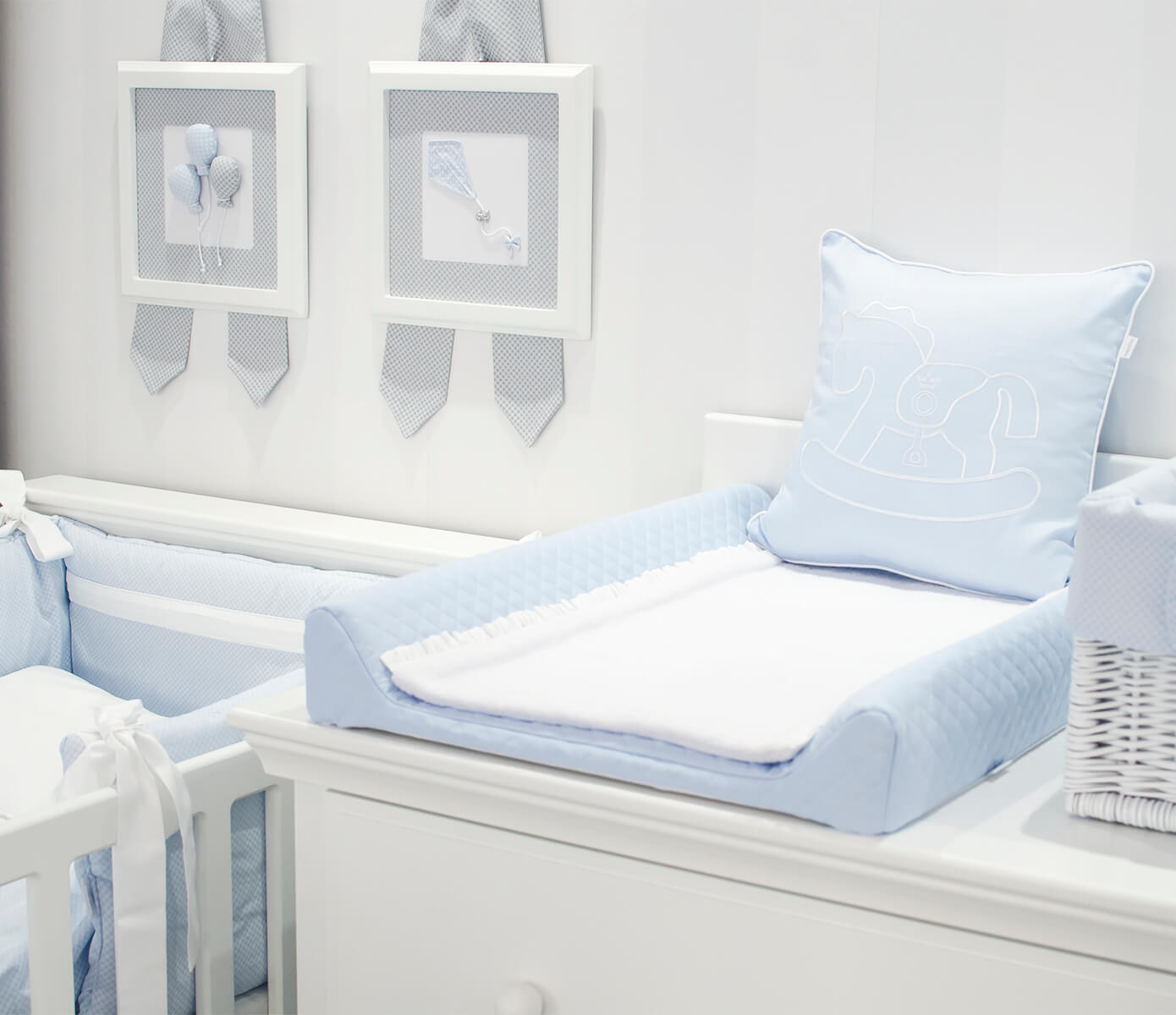 Blue Royal Quilted Wickelauflage