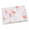 Hydrophiles Tuch Flamingo lachs 120 x 120 cm