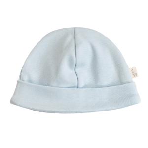 Blaue Mütze für Neugeborene 0 - 1 Monat