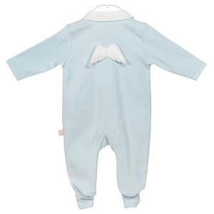 Blauer Engel Baby Anzug