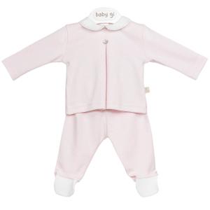Rosa 2 Stück Baby Anzug