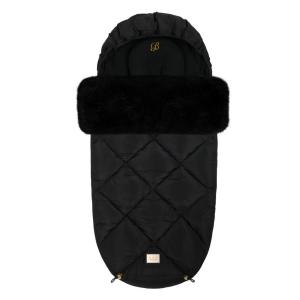Luxus schwarz Diamant Fußsack