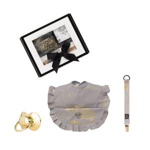 Geschenkset Goldene Sammlung grau