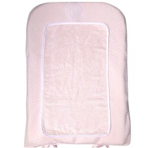Klassisch-schicke Wickelunterlage rosa