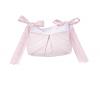 Rosa Royal gesteppte Aufbewahrungstasche / Spielzeugtasche
