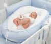 Blaues gestepptes königliches Babynest