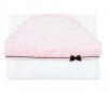 Rosa königliches Pariser Baby-Badekap