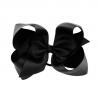 Haarschleife XL schwarz