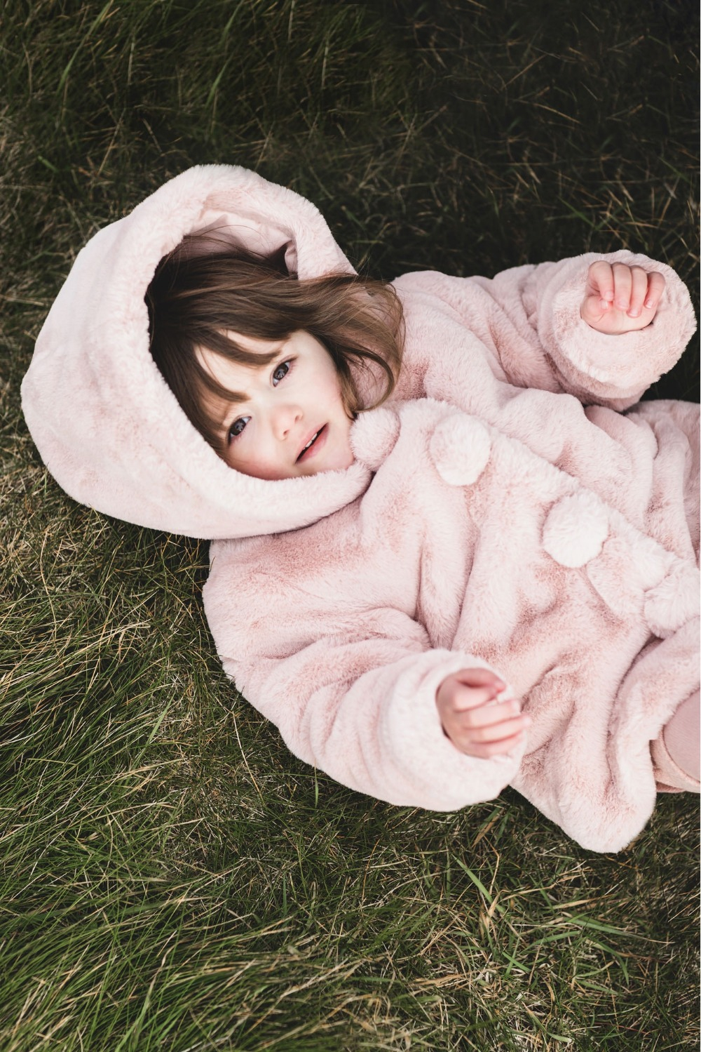Luxus Fake Fur Jacke rosa
