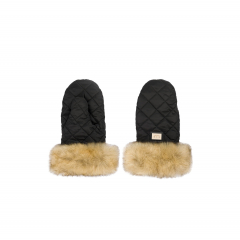 Luxus schwarze Handschuhe Black Edition