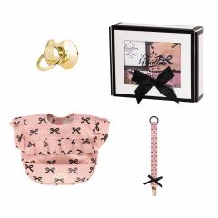 Geschenkbox rosa Schleifen Kollektion