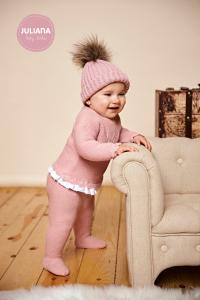 Peach Love Babyanzug