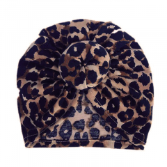 Baby Turban Donut 6-18M Leopard