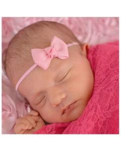 Mini-Haarband für Neugeborene mit Schleife