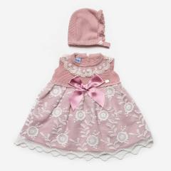 2-teiliges rosa Sommerkleid