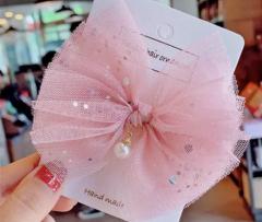 Rosa Ballerina Haarspange
