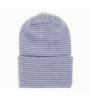 Babymütze blau weiß gestreift